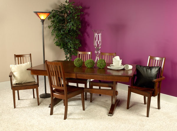 Wasilla Dining Set Custom Built By Fine Amish Furniture Craftsmen And  Offered By Weaver Furniture Sales A Northern Indiana Furniture Company.