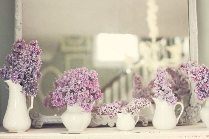 Lilacs Lilac And Lace Wedding, Ideas, Vintage Wedding Flower Lilac, Purple, Wedding Decor Lilac, Things, Heart Beats, Favorite Flower, White Pitcher