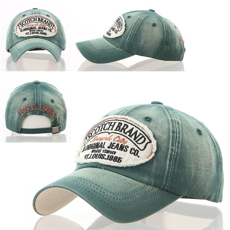 mens style baseball caps scotch new men women vintage look distressed retro ball cap hat military hats