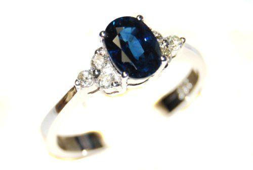 Unique 18K White Gold Solitaire Diamond Blue Sapphire Rin... https://www.amazon.com/dp/B00CDO8KD0/ref=cm_sw_r_pi_dp_u-8Exb9H92YM9