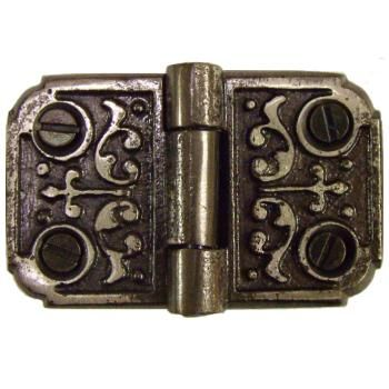 Ornate Cast Iron Flush Hinge Ornate Cast Iron Hinges Are A