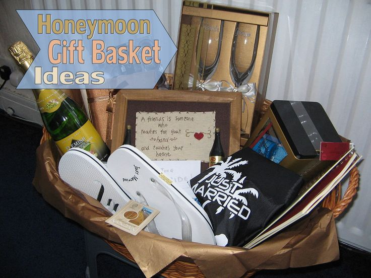 Honeymoon Gift Basket Ideas This is awesome!!