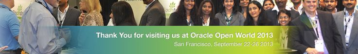 Thank you for visiting us at oracle open world 2013 - http://www.bodhtree.com/