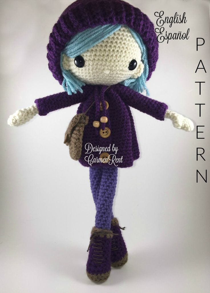 Amigurumi To Go Doll : 178 best images about Haken on Pinterest Free pattern ...