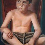 Misha  oil on canvas 80*120 cm Tatiana Siedlova