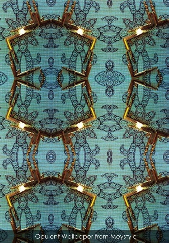 Opulent wallpaper from Meystyle