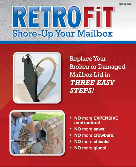 New mailbox door  sc 1 st  Pinterest & 12 best Mailbox Door Broke ? images on Pinterest | Post box Brick ...