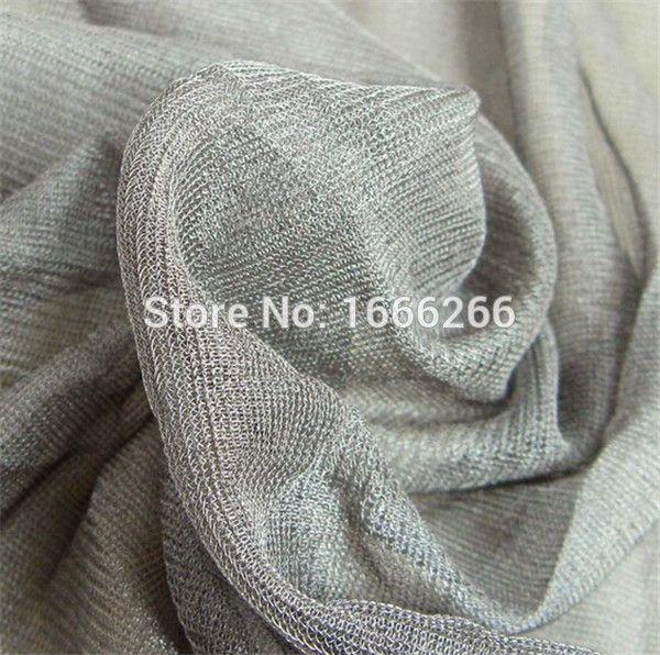 Barato Fornecimento de fábrica 100% de blindagem de tecido revestido de prata…
