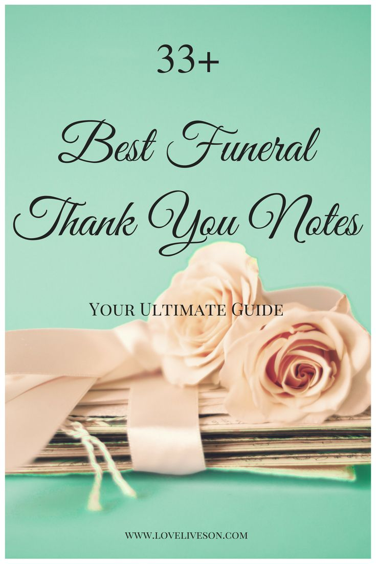 58 Best Funeral Thank You Cards Images On Pinterest