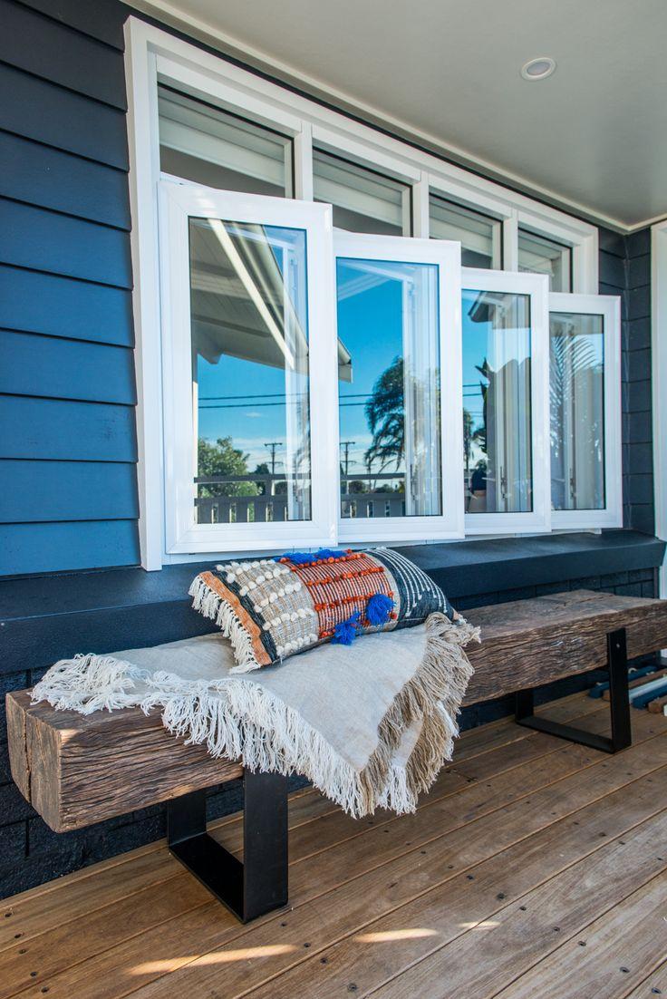 Awning windows bedroom - Casement Windows By Wideline Www Wideline Com Au With Transom Above