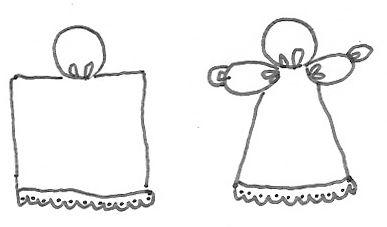hankerchief dolls | ... & Crafty Killers: CRAFTS WITH ANASTASIA-- HANDKERCHIEF ANGEL DOLL