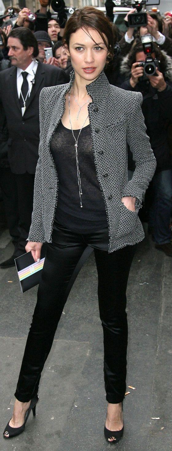 Olga Kurylenko - Sharp and very classy outfit.