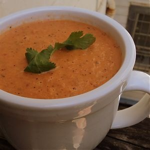 "Absurdly Easy"" Roasted Tomato-Chipotle Soup... I made this and it is ..."