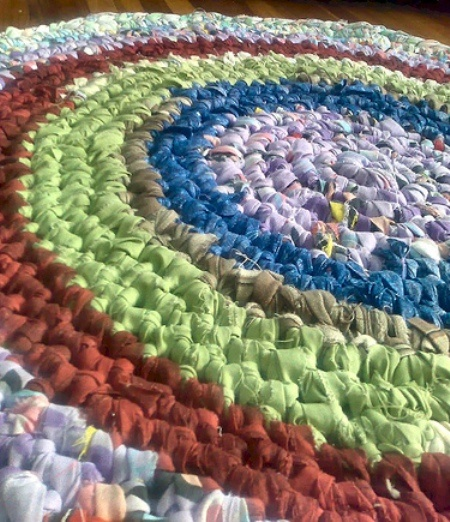 99 Best Images About Rag Rugs DIY On Pinterest
