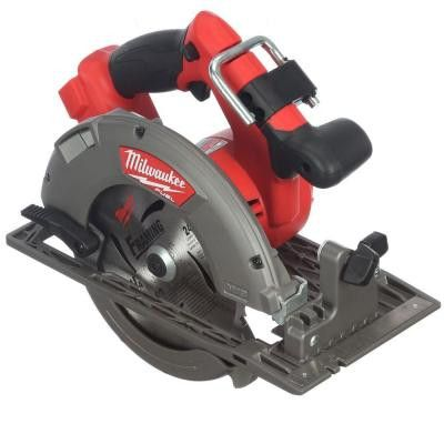 Milwaukee 2731-20 M18 FUEL 18-Volt Brushless Lithium-Ion 7-1/4 in. Cordless Circular Saw (Bare Tool)