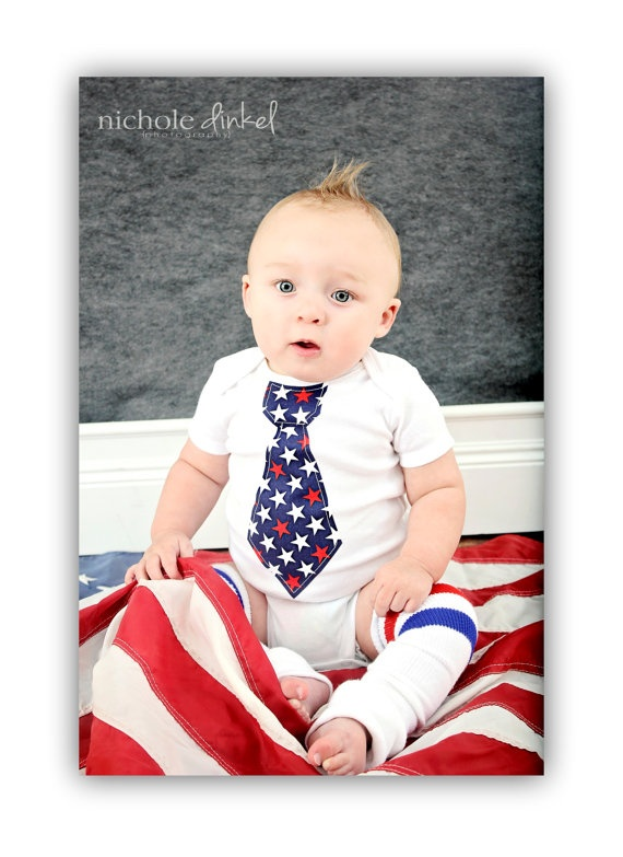 Baby Boy 4th of July Summer Patriotic by ChicCoutureBoutique, $15.50: Fourth Outfits, Baby Outfits, 4Th Of July Baby Boys Outfits