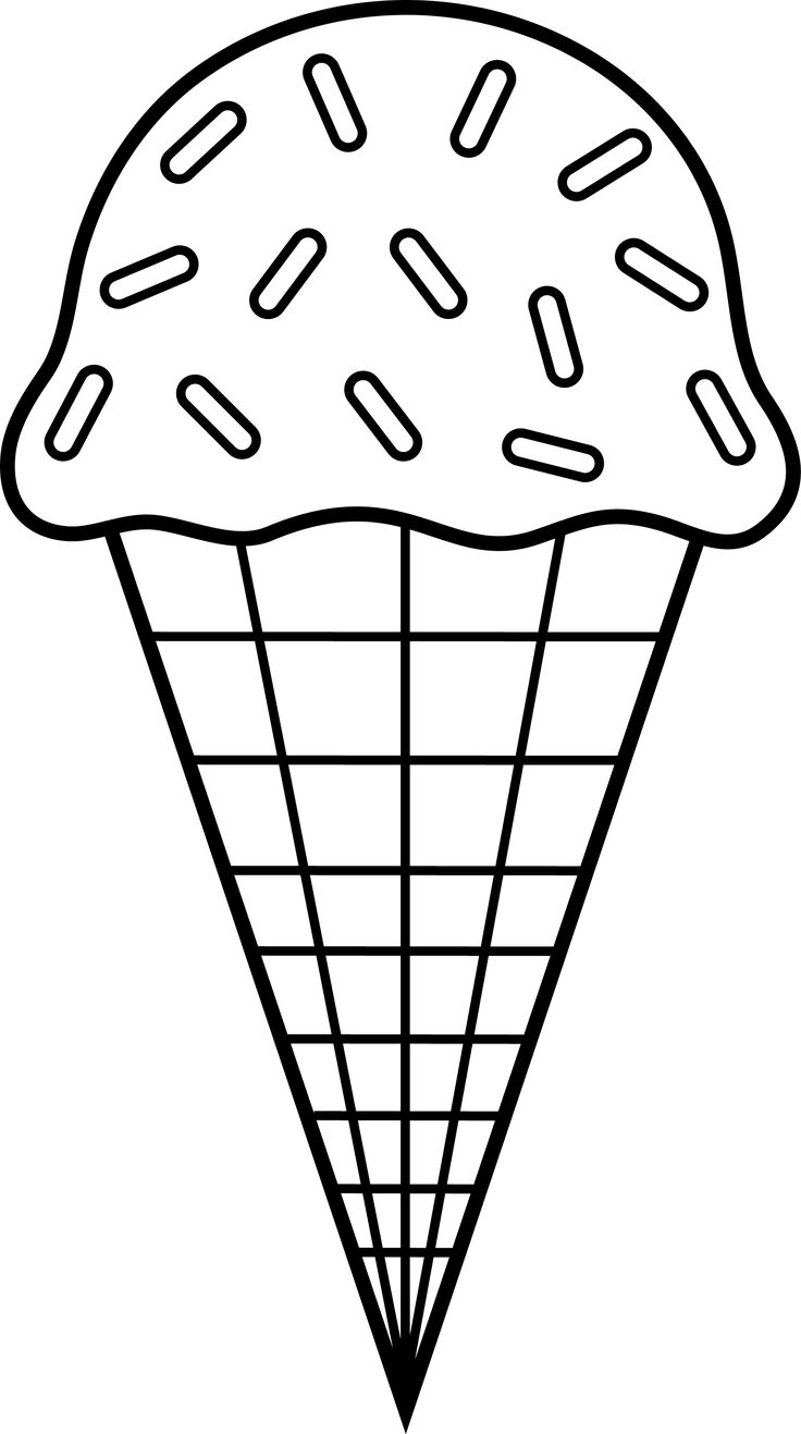Coloring pictures of ice cream cones - Simple Ice Cream Sundae Coloring Pages One Of The Ice Cream Sundae Coloring Pages 3985 For Your Kids To Print Out And Find Similar Of Simple Ice Cream