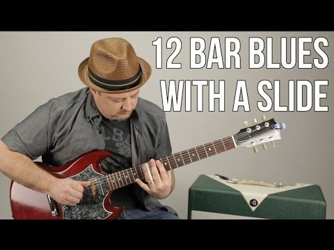 Slide Guitar Lessons - Double Stops for Blues Rock Rhythm Guitar with a Slide - YouTube