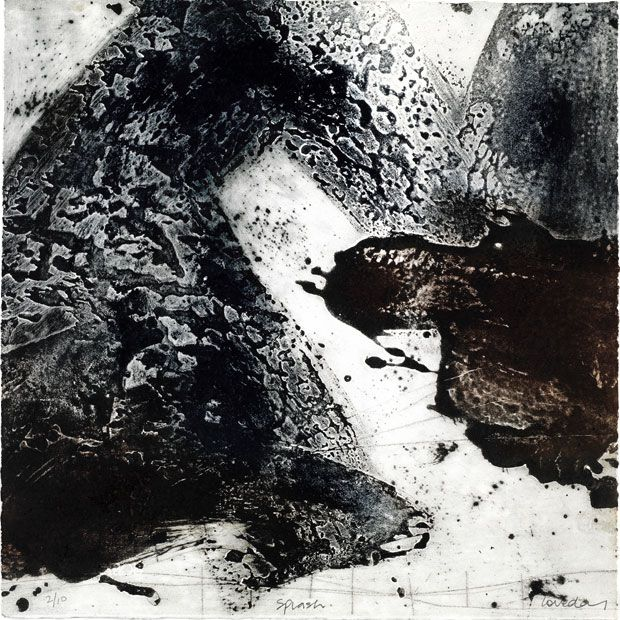 Ross Loveday Print - Splash Ross Loveday paintings, plastic arts, fine art, visual arts