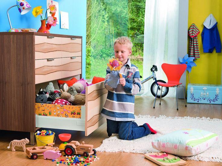 Accesorii Mobila Bucatarii Sertare Silentioase Tandembox Invio in Camere de Copii