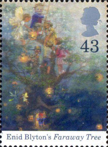 Birth Centenary of Enid Blyton 43p Stamp (1997) Faraway Tree