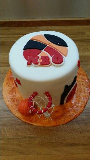 Tarta basquet/Bascketball cake