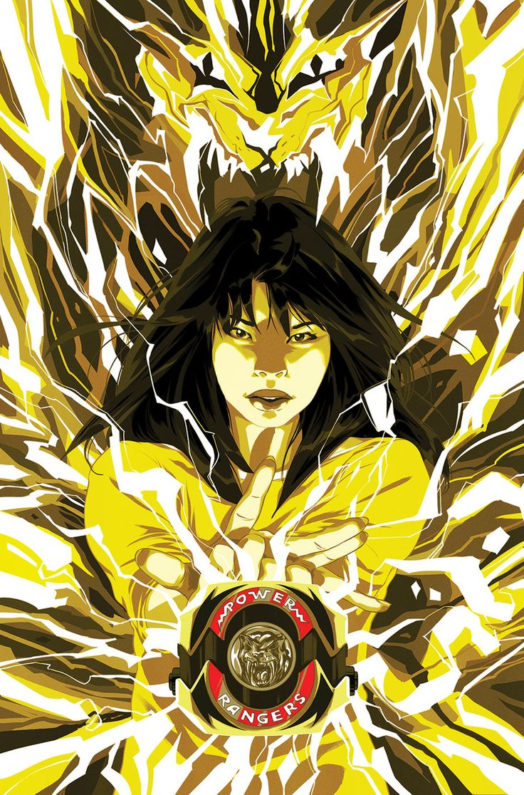 Yellow Ranger by Goni Montes