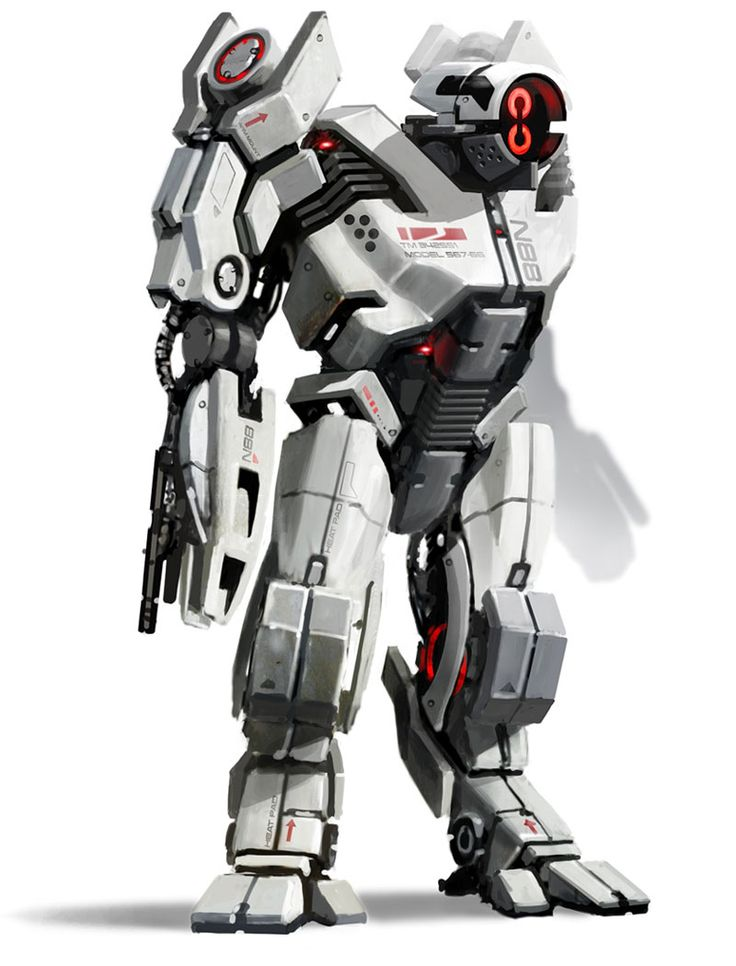 Mecha suit from Bioware's Mass Effect