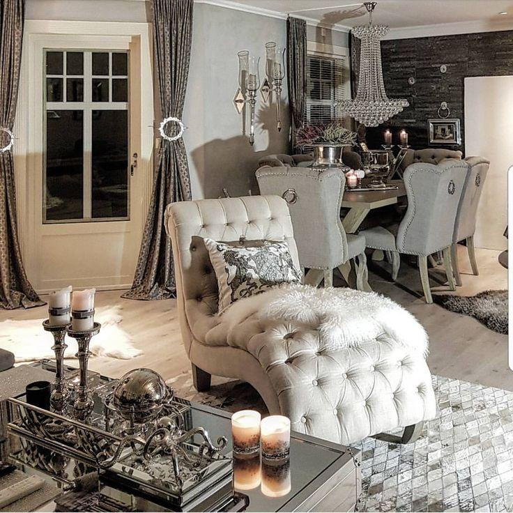 """7,245 aprecieri, 94 comentarii - @hanas_home pe Instagram: """"💎LIVINGROOM💎I hope you hade a great evening💞💞#livingroom #livingroomgoals #hem_inspiration…"""""""