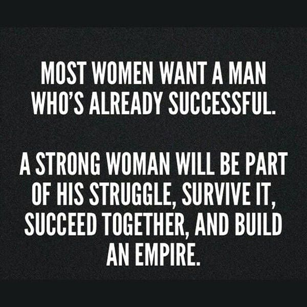 "cool Strong Woman Quotes ""Who Build An Empire"" Success Quotes on Achievement"