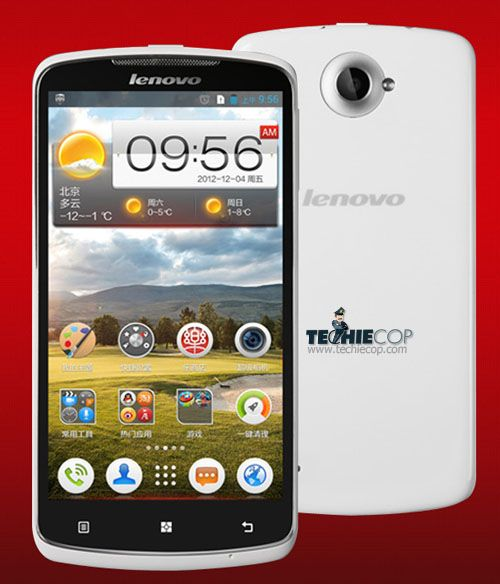 Lenovo S920 Quad-core Android 4.2 Jelly Bean smartphone announced