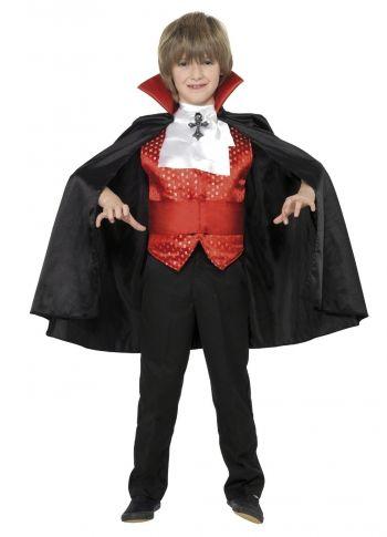 Dracula Boy Costume Child - Party Britain Fancy Dress