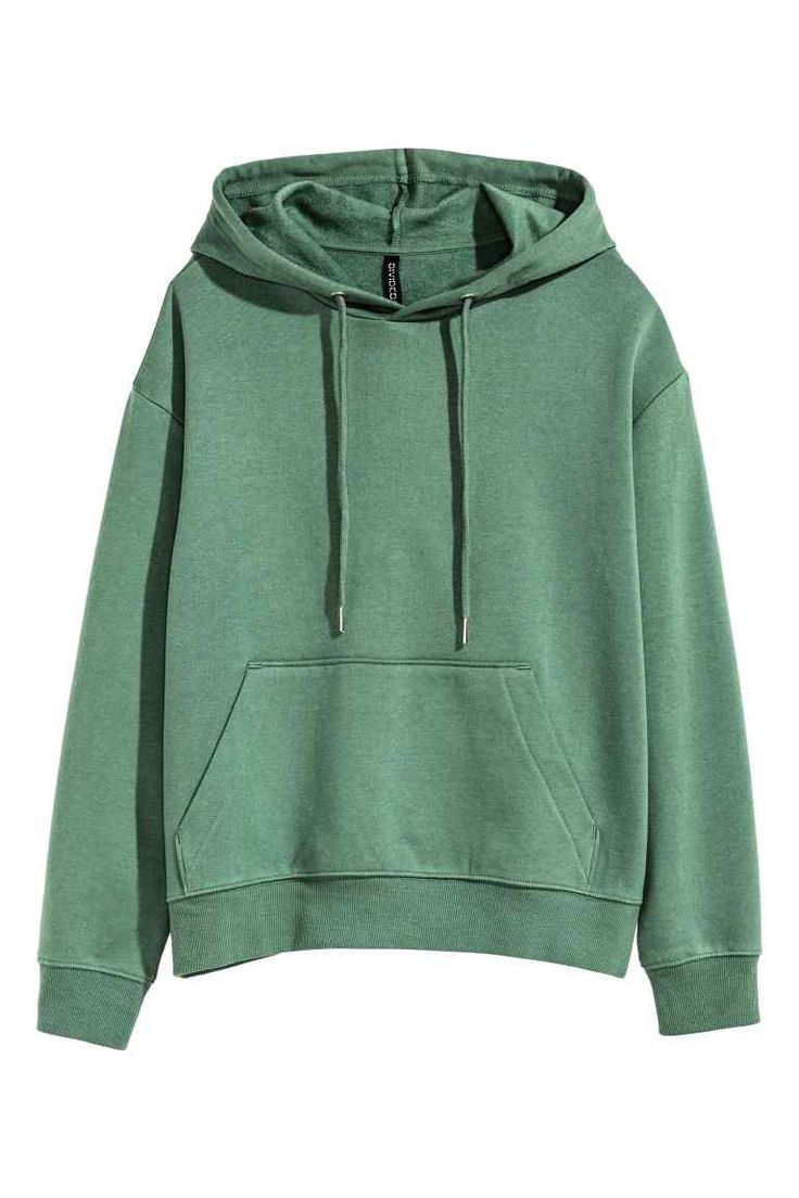 Tepláková bunda skapucňou   H&M