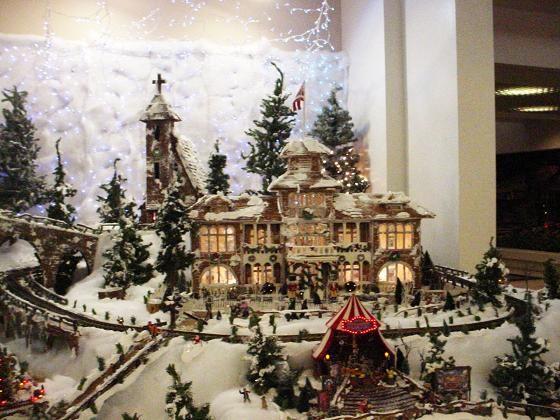 雪景色のモアナ・ホテル
