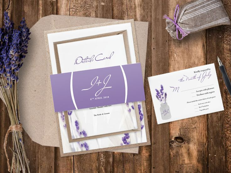 Touch of Provance. Lavender Wedding Invitations. If you thinking of provence style on your wedding our New Lavender Wedding Collection is just for you! Have a look of the breathtaking provence countryside, sprinkled with the prettiest blooms – Lavender Wedding Invitations. http://www.papercharmstore.co.uk/?s=lavender&post_type=product