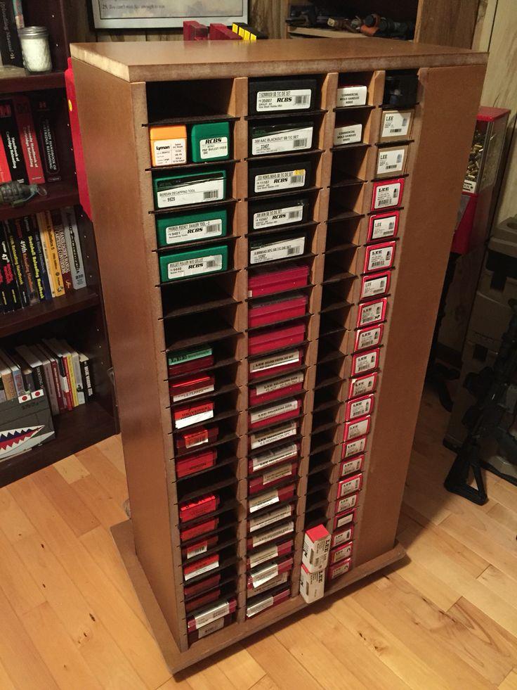 www.pinterest.com/1895gunner/ | Rolling reloading storage