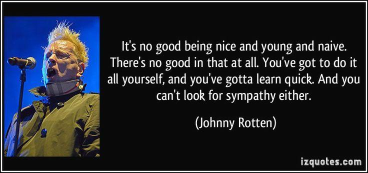 Johnny Rotten Quotes | More Johnny Rotten Quotes