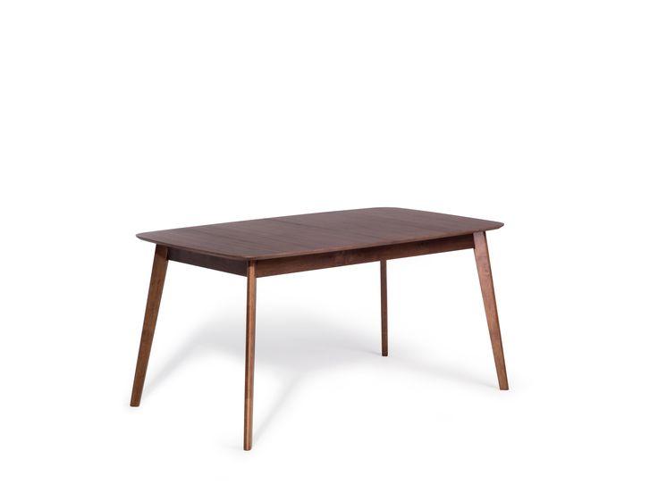 399 Mesa de jantar marrom - Extensível - 150-190x90 cm - MADOX