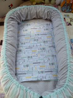 Baby nest pattern and tutorial! Awesome pattern!!