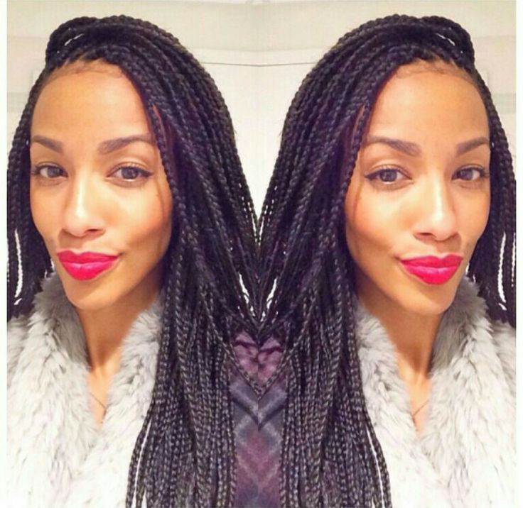 Stupendous Braid Extensions Long Braids And Extensions On Pinterest Hairstyles For Women Draintrainus