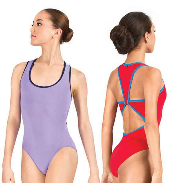 "Mariia ""Irina"" Tank Racerback Leotard $39.95 http://www.discountdance.com/dancewear/style_ME506.html?pid=22509&Shop=Brand&SID=618602526 #discountdance #mariia"