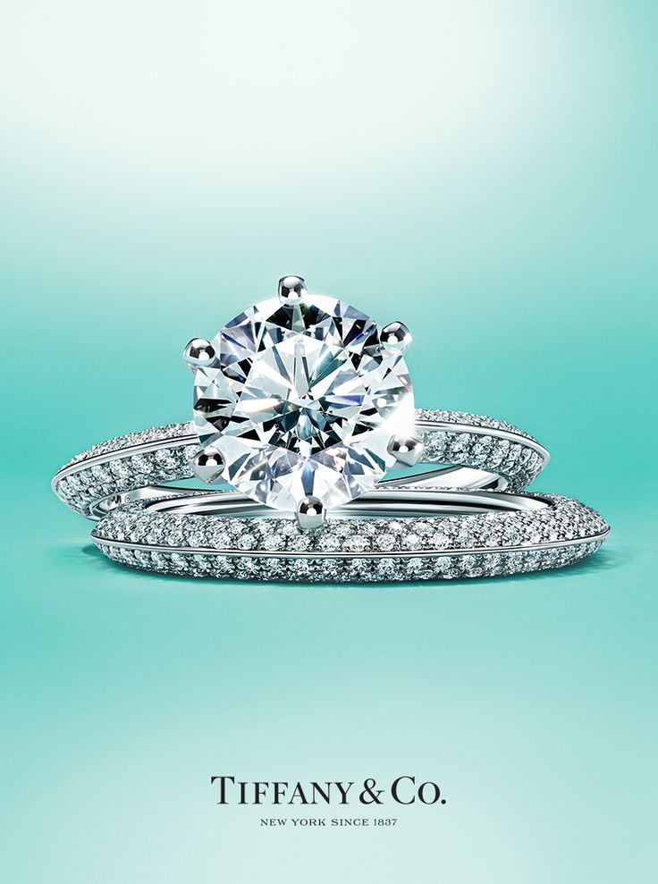 Beautiful Dazzling diamond wedding bands perfectly plement a Tiffany engagement ring From top Tiffany Metro