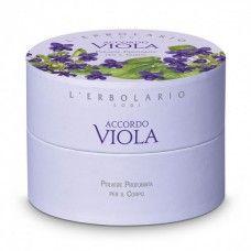 Accordo Viola testpúder ibolya illatú - Rendeld meg online! Parfüm és kozmetikum család az olasz Lerbolario naturkozmetikumoktól
