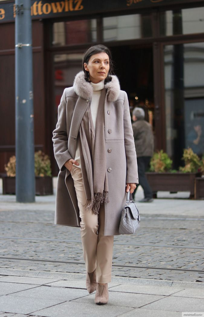 https://minimalissmo.blogspot.com/ #totalbeige #beige #look #coat #look #elegant #stylish #winter #fall #fashion