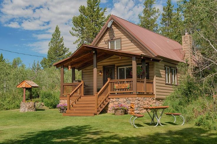 11 best adventure vacations images on pinterest for Cabin yellowstone park