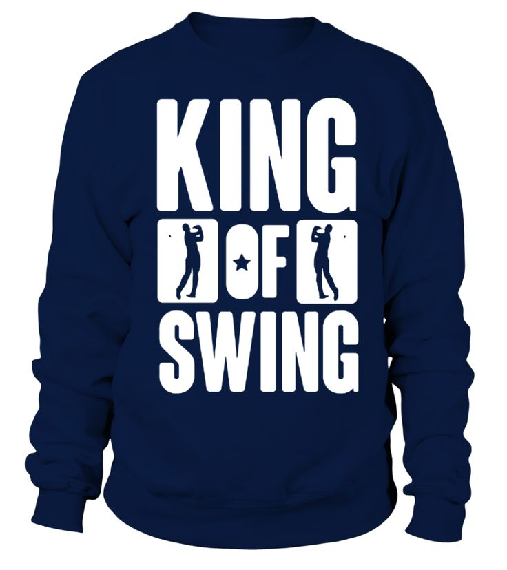 Golf    King of swing T shirt   => Check out this shirt by clicking the image, have fun :) Please tag, repin & share with your friends who would love it. #dad #daddy #papa #shirt #tshirt #tee #gift #perfectgift #birthday #Christmas #fatherday
