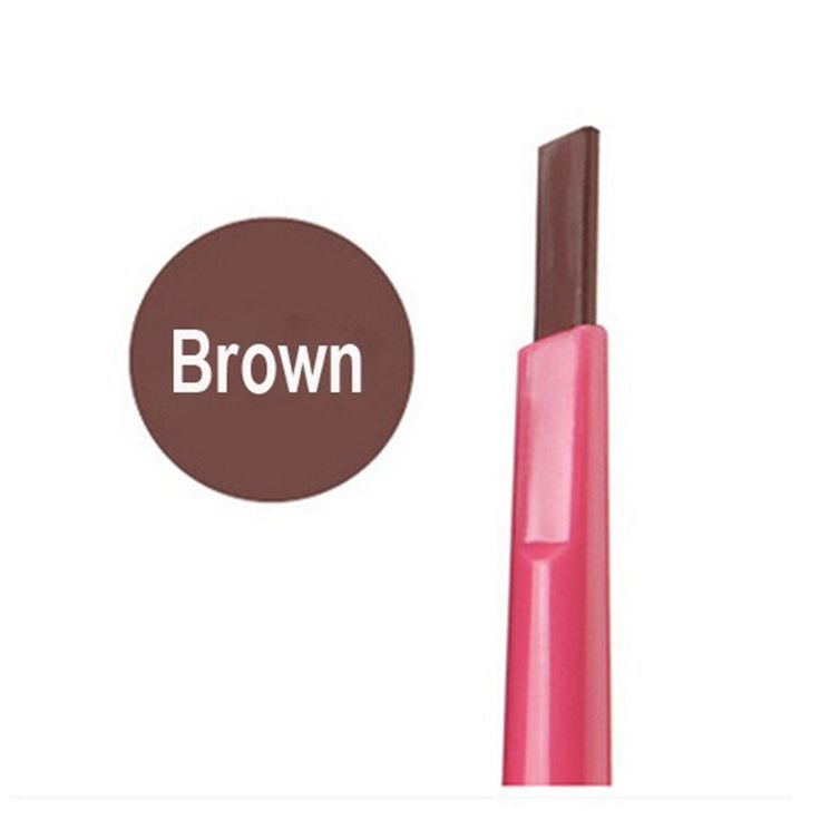 1Pcs Makeup Eyebrow Pencil Waterproof Long Lasting Eye Brow Pen Eye Brow Drawing Make Up Cosmetic Tools (Brown). Waterproof Eyebrow Eye Brow Pen Pencil Makeup Beauty Cosmetic tool. Easy to color, waterproof, long lasting, your eyes will looks larger and nicer. The professional eyeliner/eye shadow pen/eyebrow pencil kit allows you easy makeup. Automatic rotation eyebrow pencil, you don't need to sharp the pencil, easy and convenient. Perfect for home use and travelling.