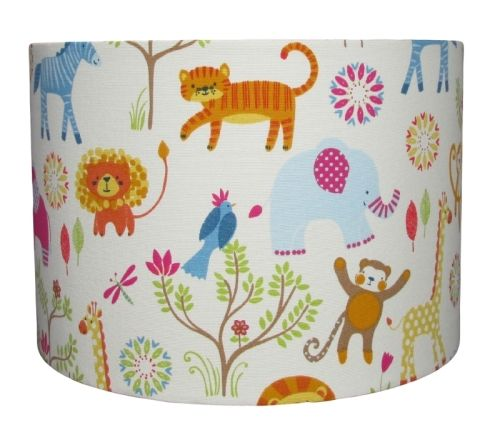 African animal lampshade