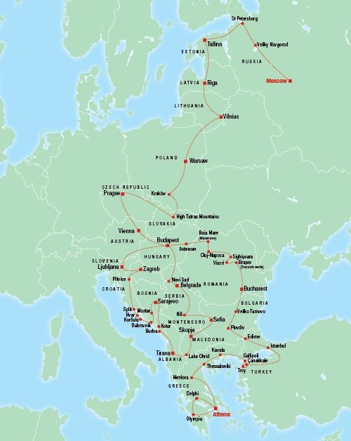 Ultimate Eastern Europe Tour - Overview