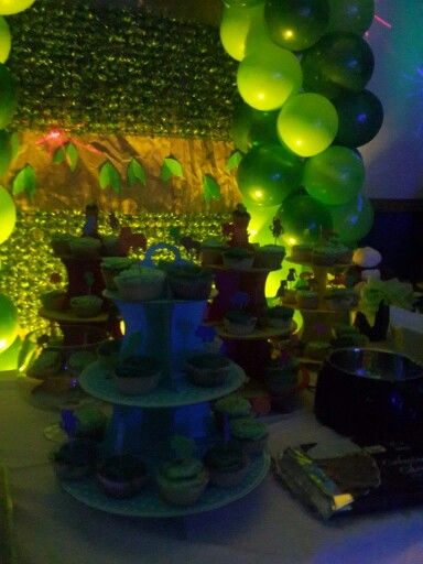 Mesa dulces safari